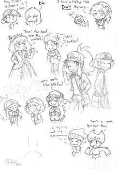 Plane doodles by firehorse6