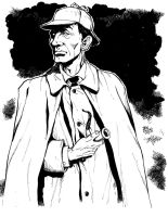 Sherlock Holmes commission by Dogsupreme