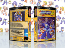 MegaMan 6 Complete Works Cover by TuxedoMoroboshi
