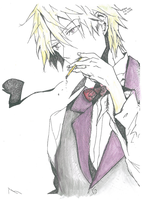 Shizuo-Watercolor by SitaraChe2000