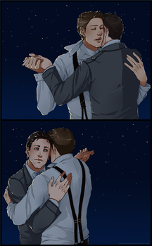 DC Titanic!AU: wanted to dance with you for real by nella-fantasiaa