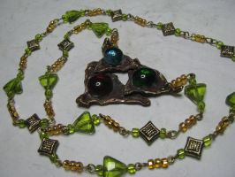 Legend of Zelda necklace by uchihakitty6