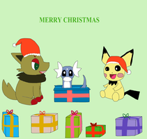 Happy Pokemon Opening Gifts by Zoruaofepic