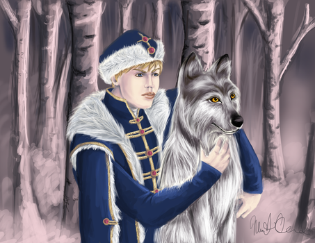 Ivan and the Wolf by LyraDogstar