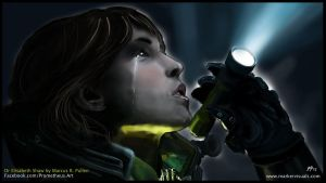 Noomi Rapace as Dr Elisabeth Shaw in Prometheus by Bluedonutstudios