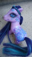 My little pony custom midnifght butterfly by AmbarJulieta