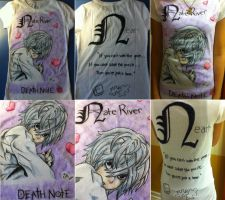 Death Note Near Shirt by ChibiStarChan