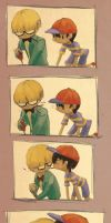 Earthbound: Pocky by Pink-Shimmer