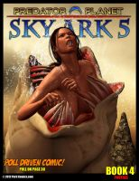 Sky Ark 5 Book 4 On Sale Now by PerilComics