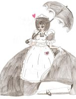 Japanese Maid Princess by Aquateen510