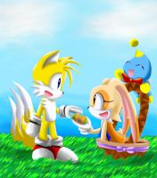 Happy Easter 2012 by Sonicbandicoot