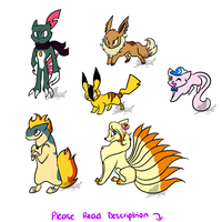 NYP Pokemon Point Adopts {CLOSED} by WingedLeopard