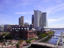 Baltimore Skyline 1 by lady-warrior