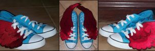 ruby (winged) two shoes by beautifulartisabang