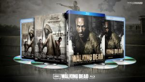 The Walking Dead: Season 3 Blu-Ray by SeriousDesigns