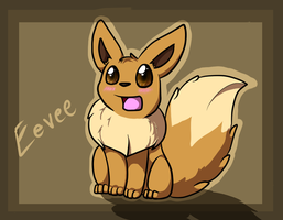 Chibi Eevee by Xenophilith