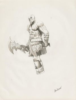 Kratos by The-Stalwart