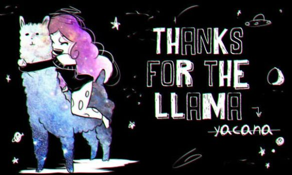 Thanks for Llama by kazumitakashi