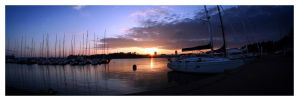 Harbour Sunset by Shaggy87