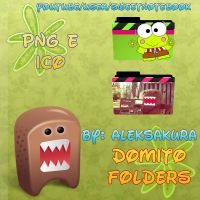 Domo folders carpetas by AlekSakura
