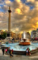 Trafalgar Square by Joetographic