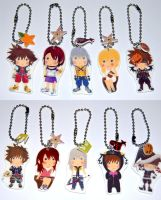 Kingdom Hearts charm - Phone charm / Keychain by knil-maloon
