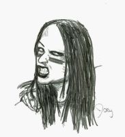 Joey Jordison by DarkElm0