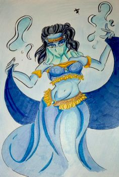 [Fan art] : Shinddha Genderbend by juliabakura