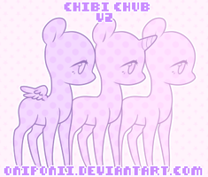 [CHIBI CHUB V2] [P2U BASE] by OniPonii