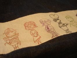 1963 Clue cartoon characters bag by death-g-reaper