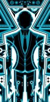 Daft Punk - Tron 1 by ron-guyatt