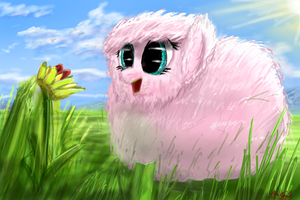 Fluffle Puff by anttosik