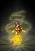 Sevaichu spell casting by Hatirem