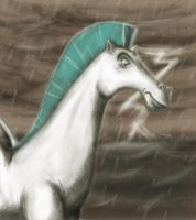 Portrait in the storm by nemesis222