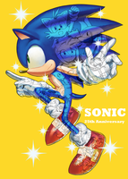 Sonic 25th Anniversary by esef3733