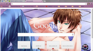 Kentin theme google chrome by alechivis