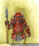 Red Guard by corndoggy