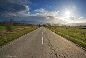 The Road to Rhodope Mountain by tangratannakra