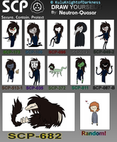 Draw Yourself as SCP by Neutron-Quasar