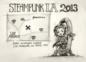 Steampunk LA 2013 by 47ness