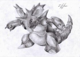 Nidoking by Oxide23