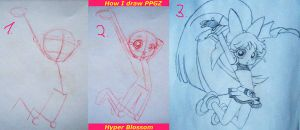 LittleTutorial:How I draw PPGZ by ZoeShiranui