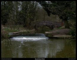 Knettishall Weir by In-the-picture