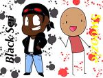 Black Sen and Swoozie by Retro-Head