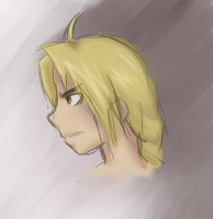 Edward elric by Painting-Warrior