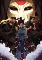 The Legend of Korra by BunnyTheAssassin