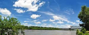 Panorama- Missouri River 2 by Tephra76