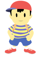 Ness (Earthbound) Vector by Paradox550