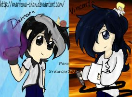 *:.Pedido.:* Darcar and Vincent by llBloodyPawsll