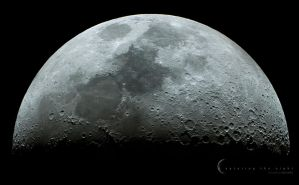 Lunar Mosaic II by CapturingTheNight